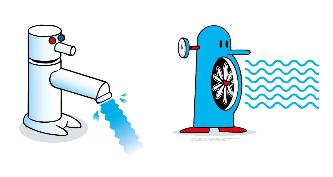 Robinets mousseurs et condensateurs performants