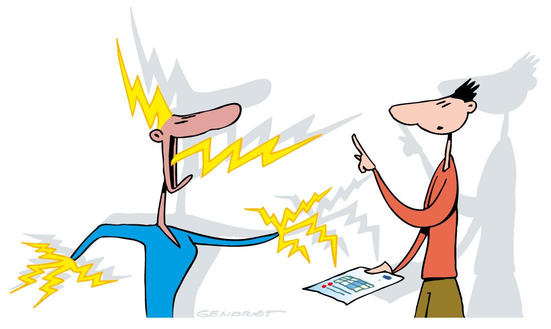 Courrier des lecteurs - Facture EDF
