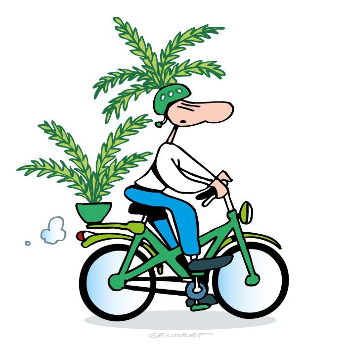 Incitation à utiliser le vélo