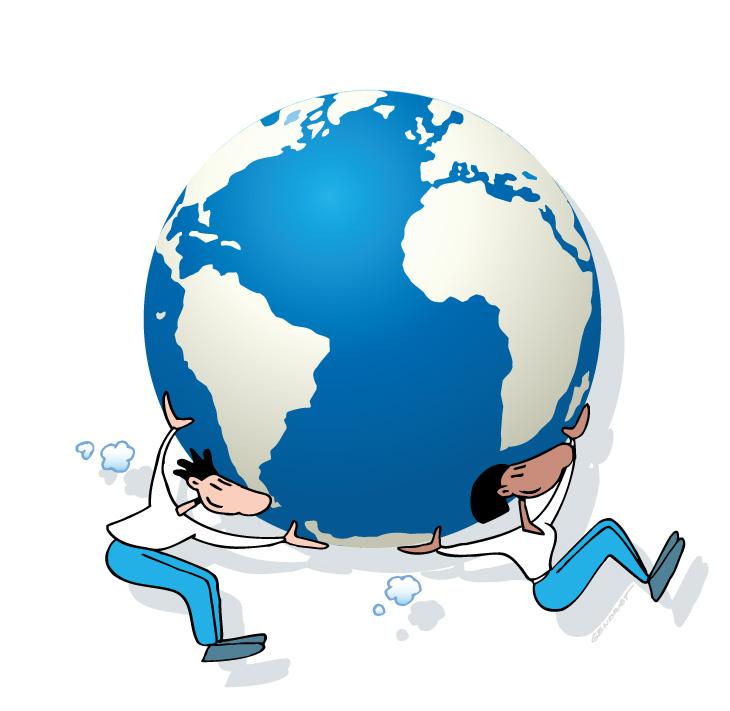 Ensemble nous pouvons aider la planète