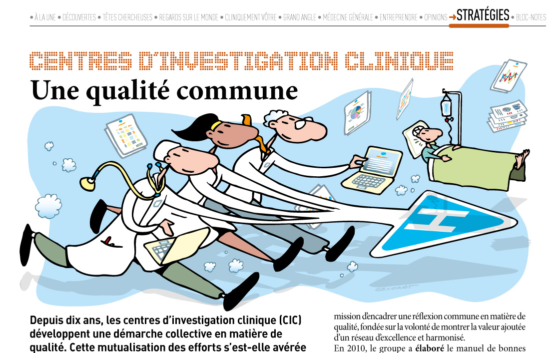 Centres d'investigation clinique