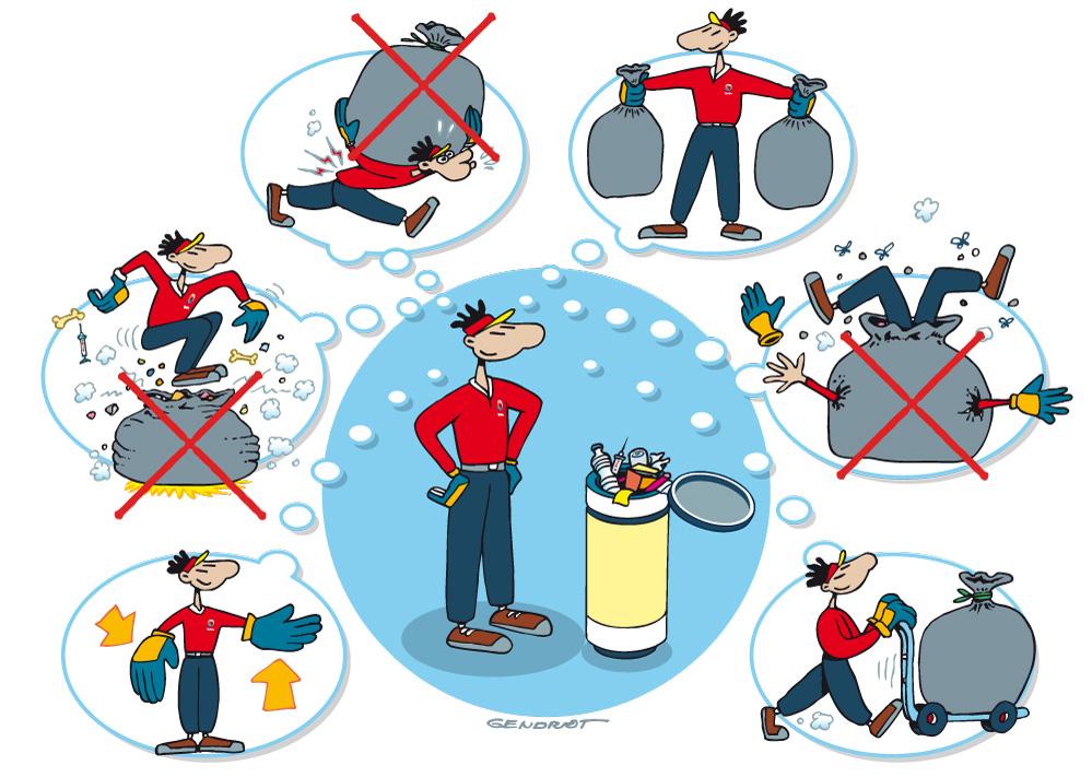 Consignes pour le traitement des déchets