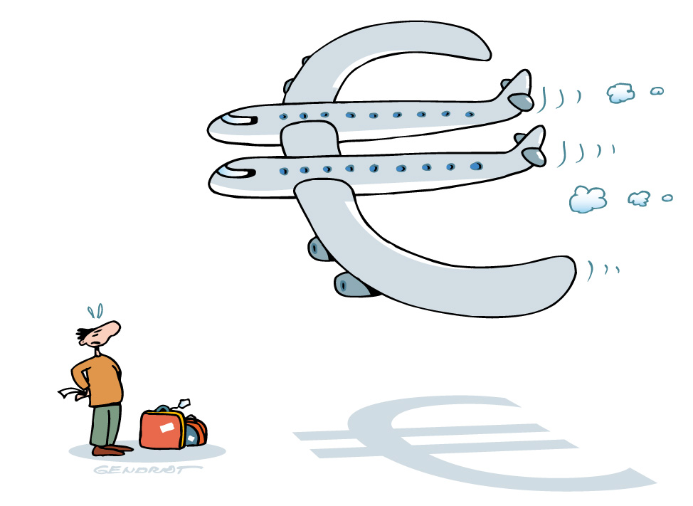 Taxes aéroport - Décharger les surcharges