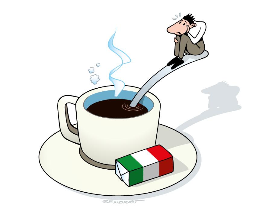Arabica blues - Les italiens boivent moins de café