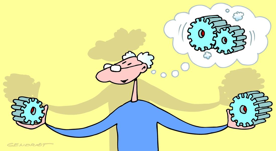 Alzheimer, faire travailler sa mémoire