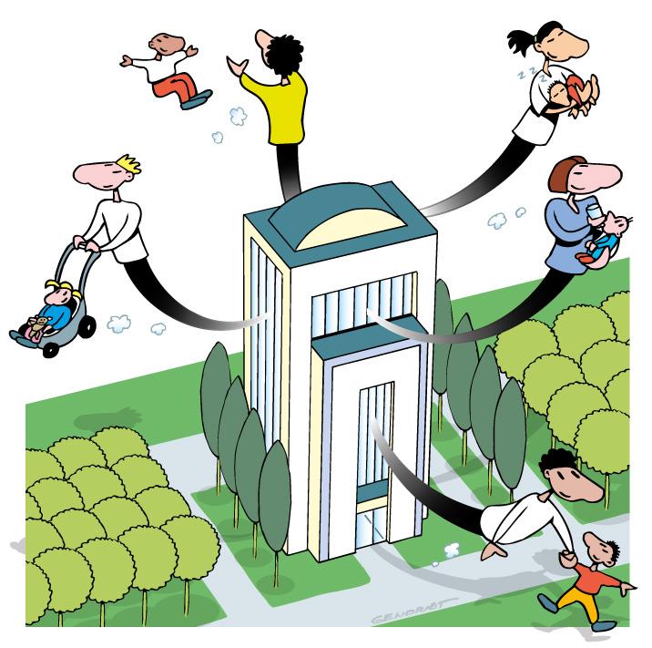 Suspension d'activité et garde d'enfant