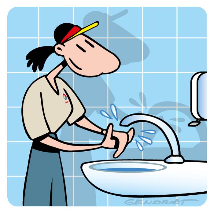 Formation embauche - Laver ses mains