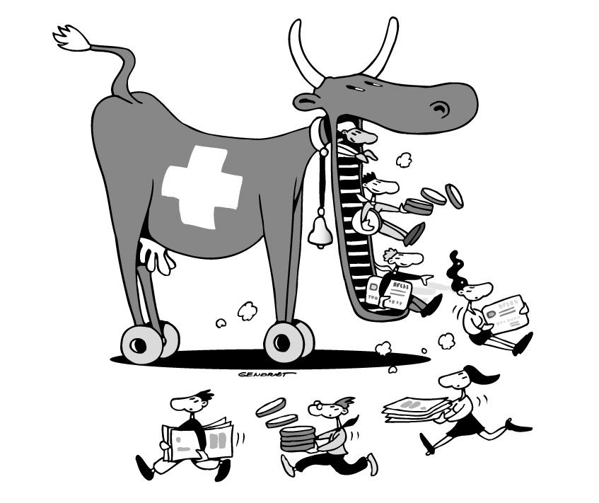Les banquiers suisses... Vache de Troie