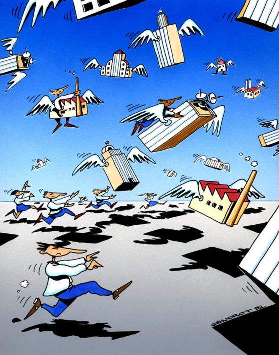 Les entreprises délocalisent