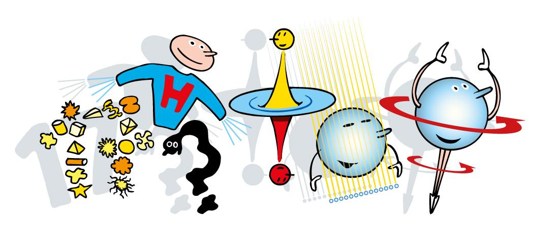 Frise particules élémentaires