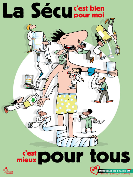 Campagne Sécu 2010 - Affiche
