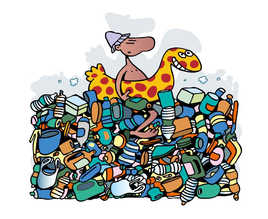 Les plastiques dégradent l'environnement