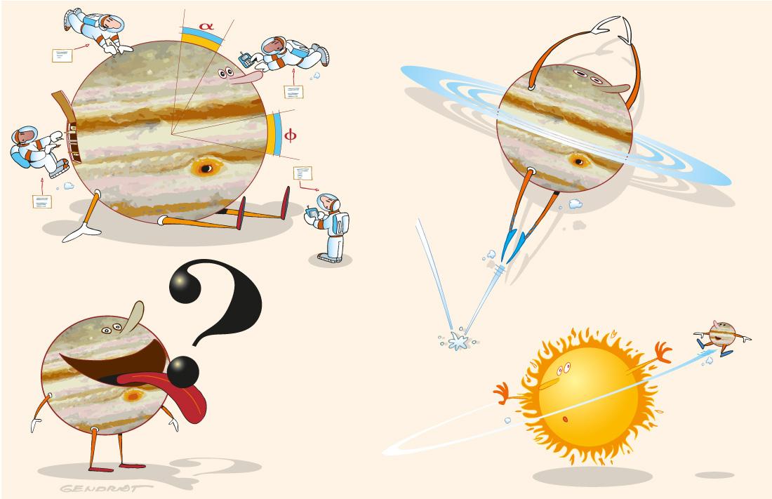 La planète Jupiter