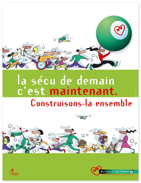 Campagne Sécu 2003 – Affiche