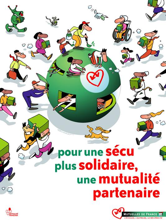 Campagne Sécu 2004 – Affiche