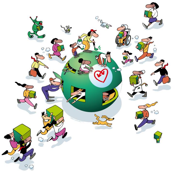 Sécurité sociale - Mutualité 2004