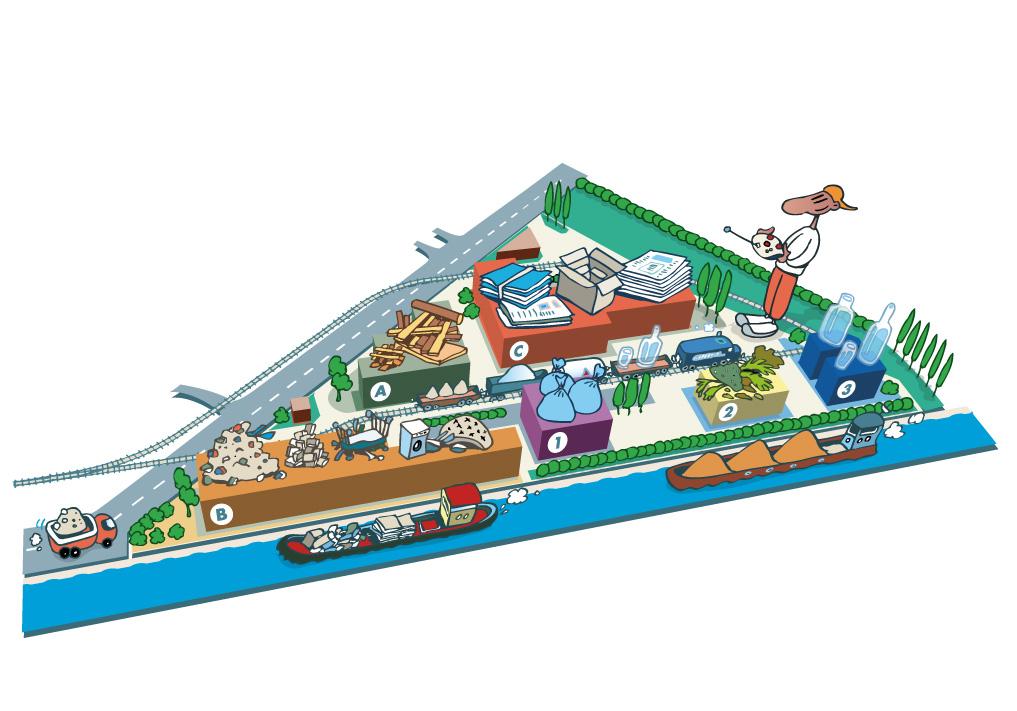 Guide de l'écocitoyen pour les écoles - Centre de tri