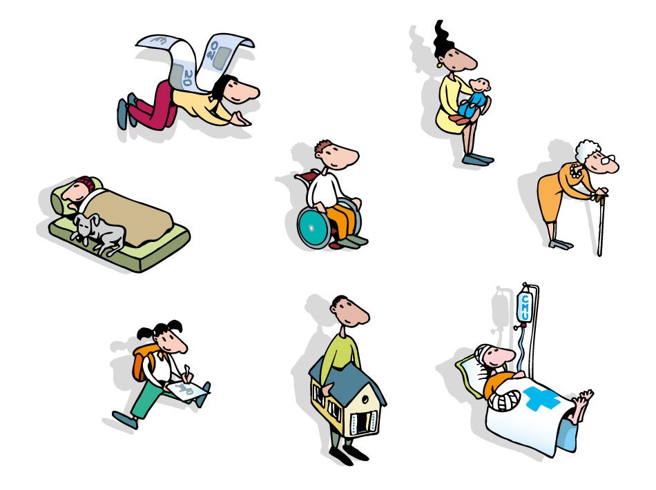Aides sociales - Vignettes