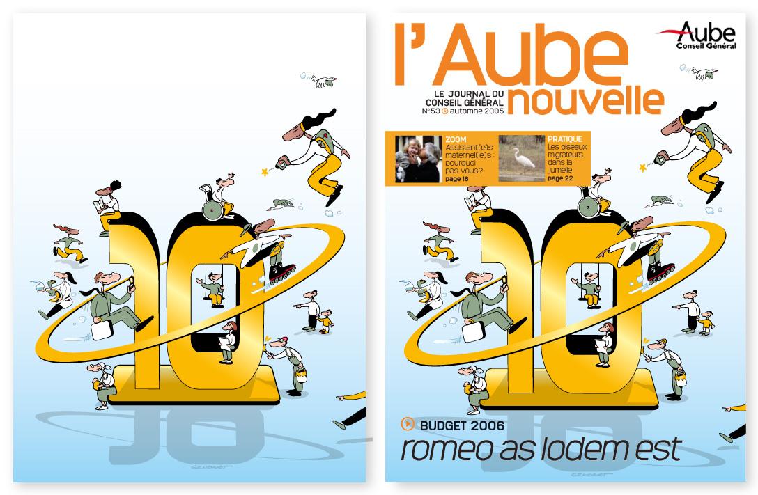 Aube - Journal du Conseil Général
