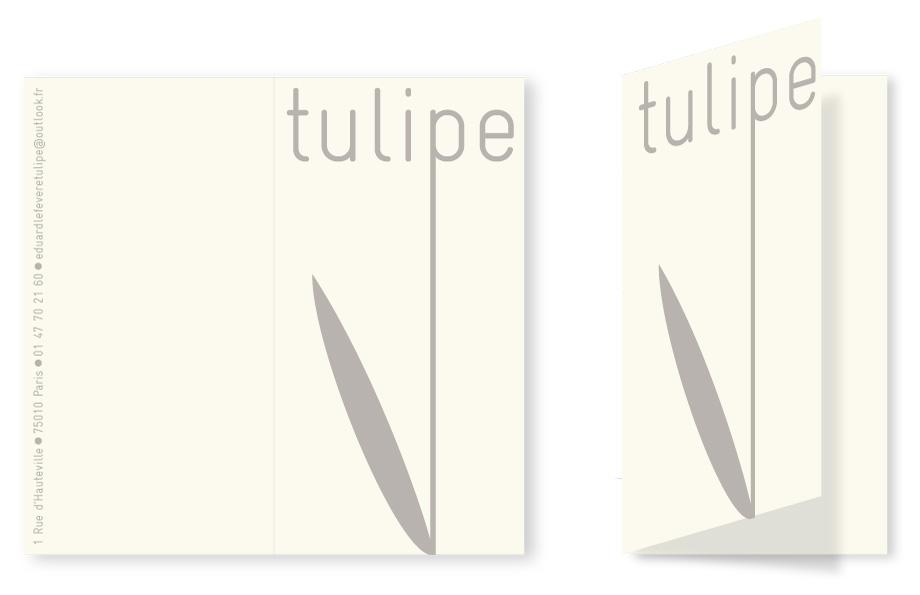 Tulipe carte