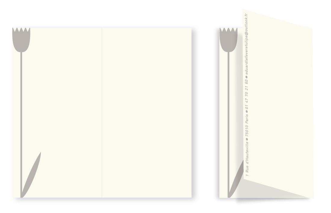 Carte professionnelle - Verso
