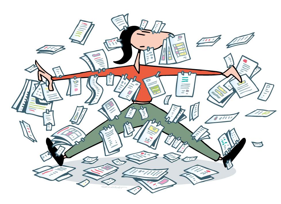 les sans-papiers ont beaucoup de papiers